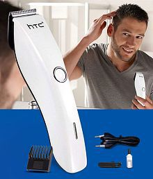HTC AT-206 Beard Trimmer ( White )