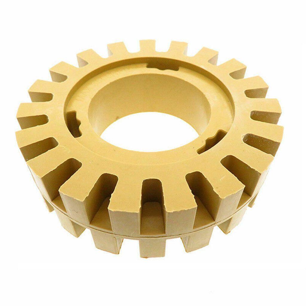 Rubber Eraser Wheel 4Inch for Adhesive Sticker Pinstripe