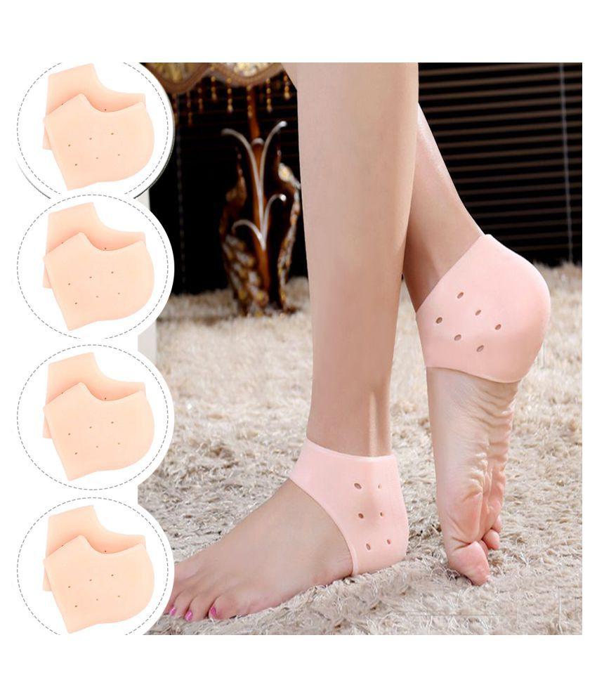 ARADENT Reusable Moisturizing Socks 4 Pairs Pack of 8