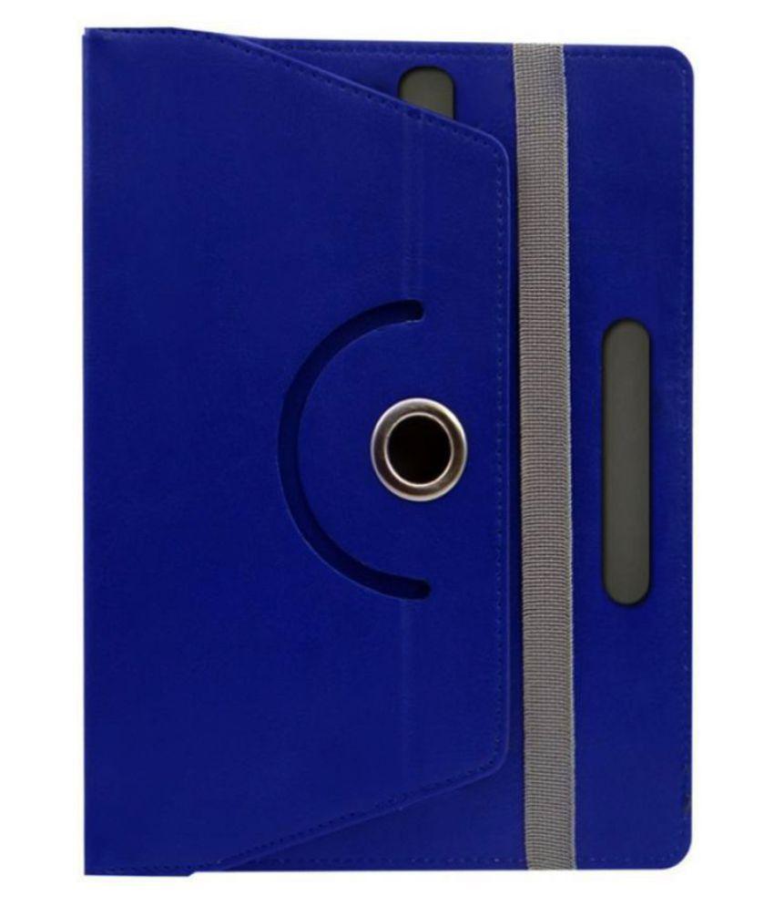 Universal 25.65 cm(10.1) 25.4 cm(10) Any Tab Flip Cover By Cutesy Blue