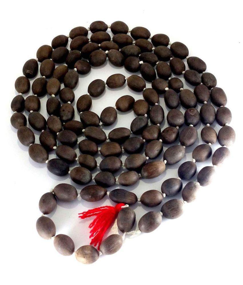 Kamal Gatta Mala with 108 Lotus Seeds for Blessing of Laxmi MATA and Mystic Pooja Beads Jaap Mala