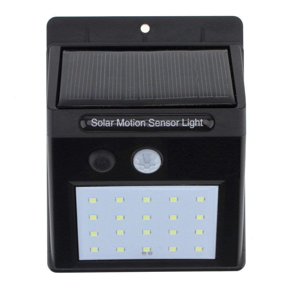 DC Digitals 20W Solar Outdoor Wall Light - Pack of 1