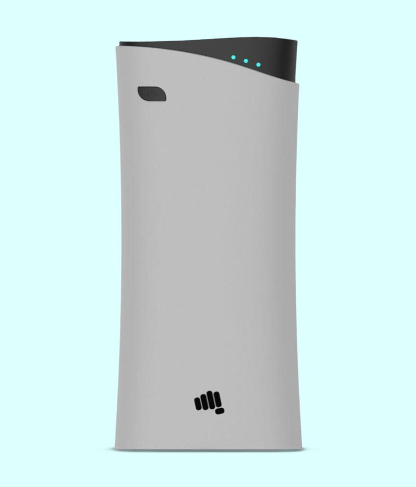 Micromax MXAPB1041 10400  mAh Li Ion Power Bank Grey