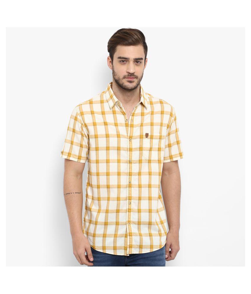 Mufti 100 Percent Cotton Multi Checks Shirt