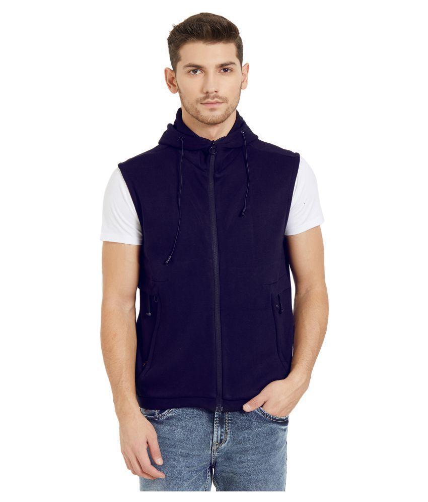 Status Quo Blue Hooded Sweatshirt