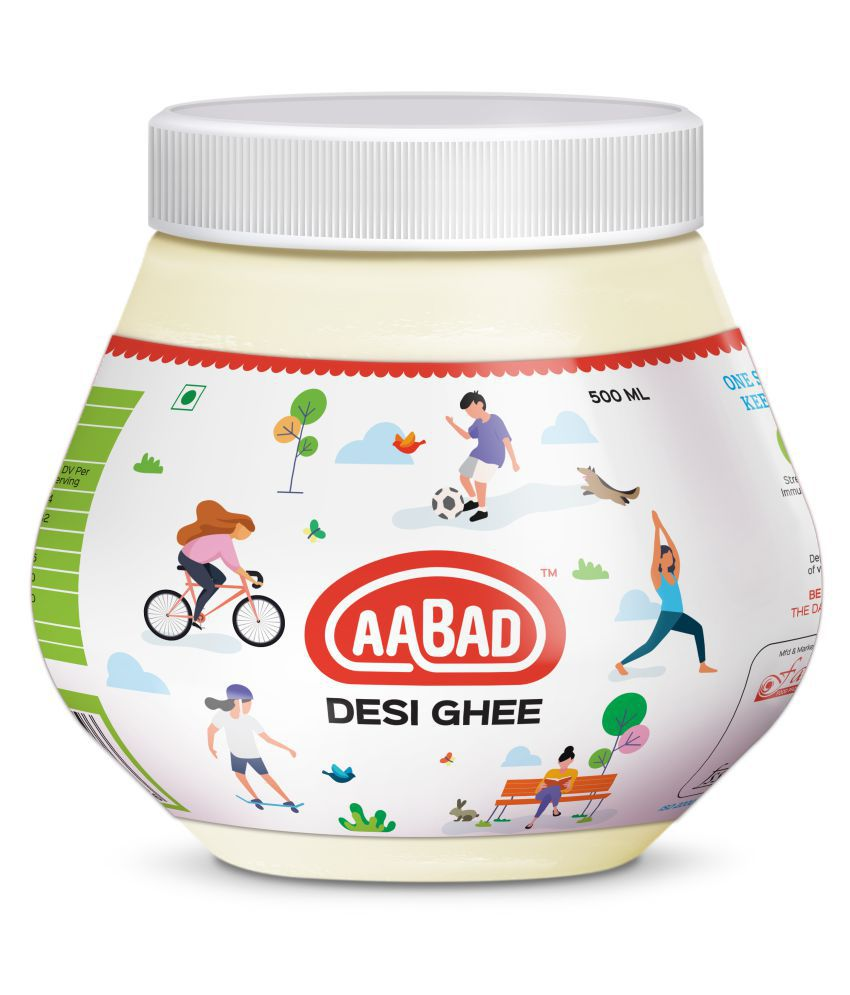 AABAD Natural Cow Desi Ghee 1 L