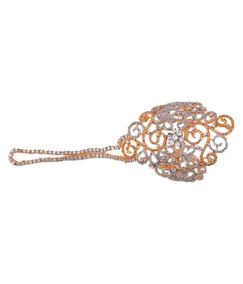 Gold Plated Traditional Jewellery for Women by Designer Mehak Gupta