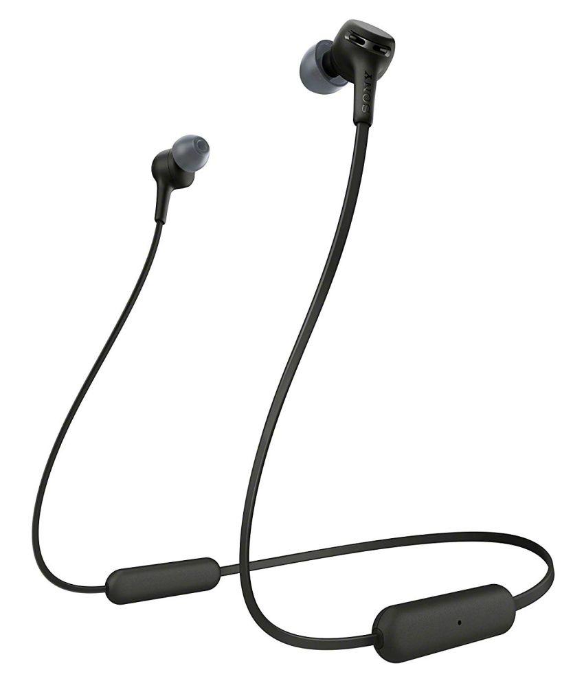 Sony WI XB400 Neckband Wireless With Mic Headphones/Earphones