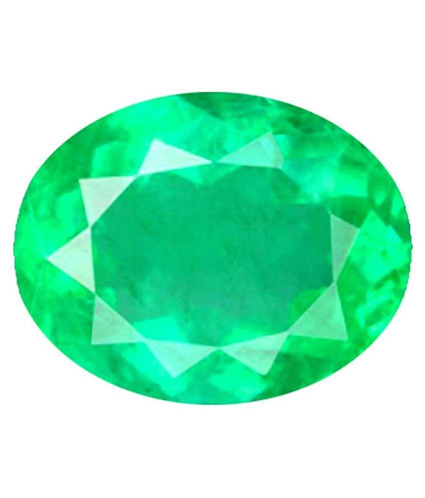 Todani Jems® 4.25 Ratti 3.62 Carat Full Transparent Green Beryl Panna Gemstone For Astro Panna Stone