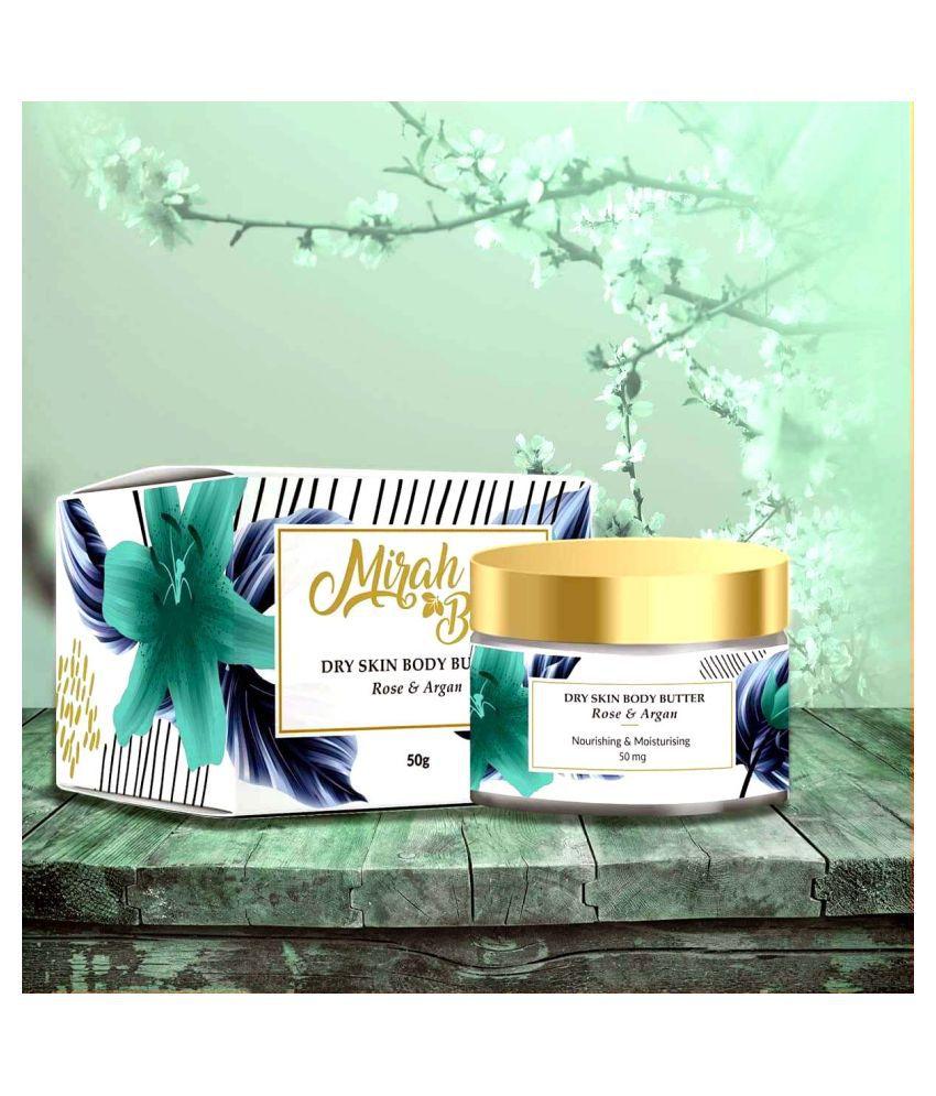 Mirah Belle Rose – Argan Dry Skin Body Butter Cream