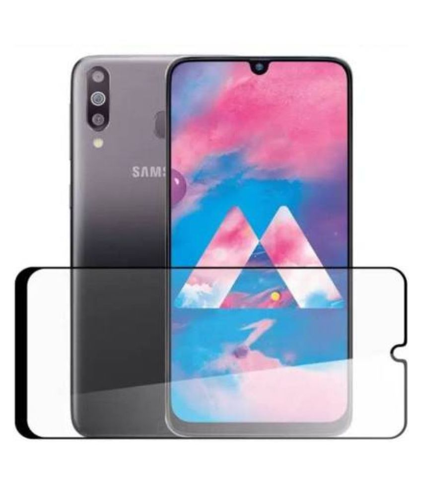 Samsung Galaxy A30s Tempered Glass Screen Guard By lenmax Japanese Advance Screen Protector Technology