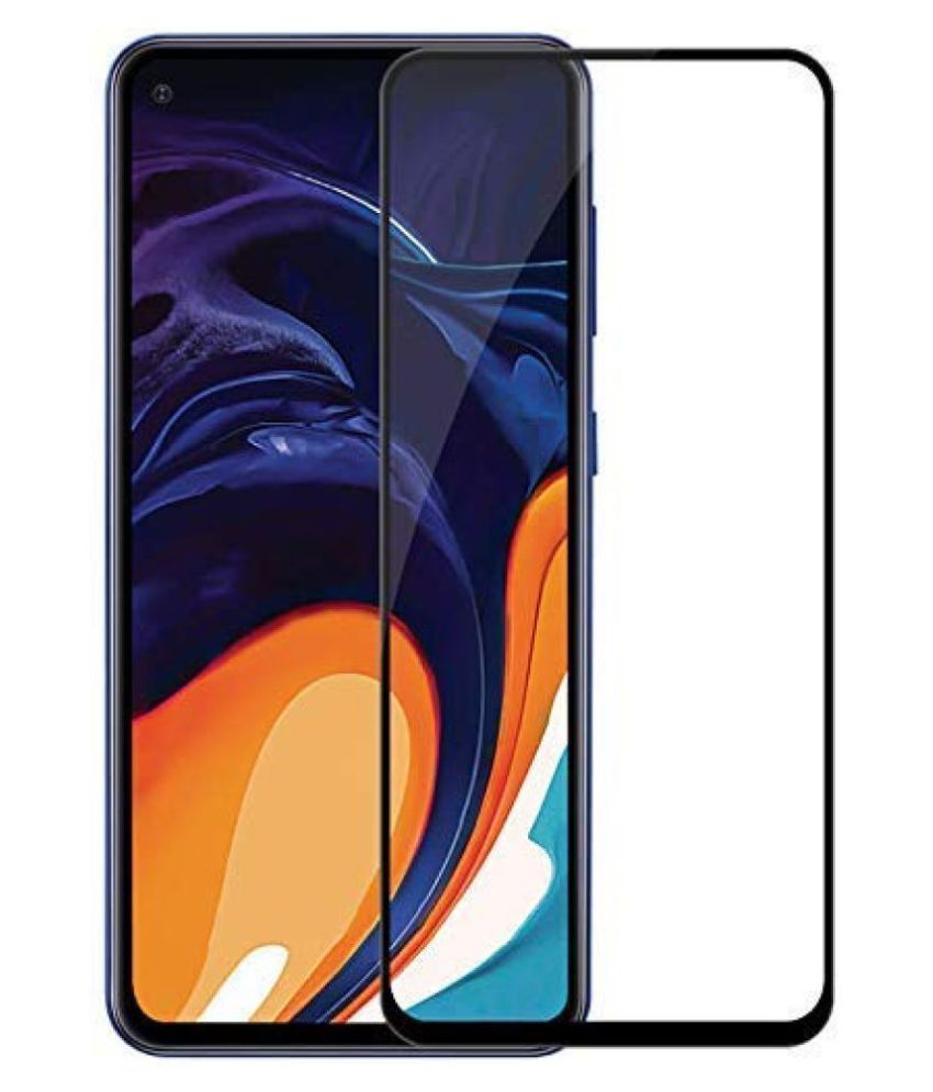 Samsung Galaxy M40 Tempered Glass Screen Guard By lenmax Japanese Advance Screen Protector Technology