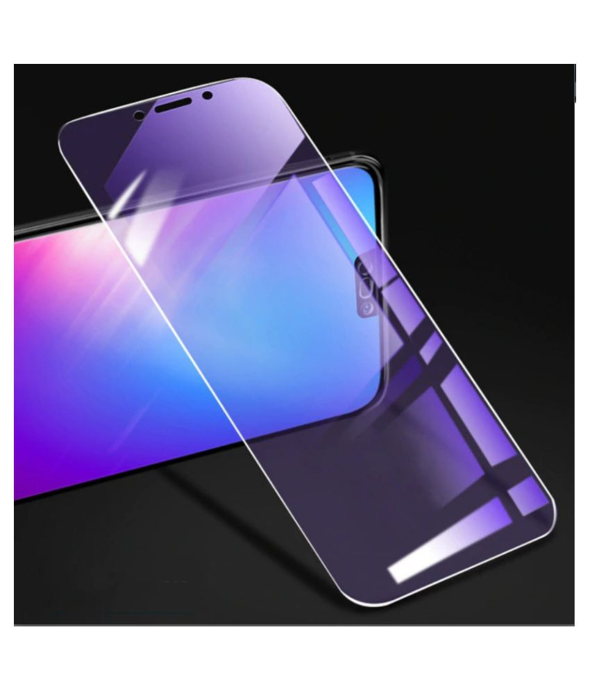 Apple iPhone XS Max Tempered Glass Screen Guard By lenmax UV Protection, Anti Reflection