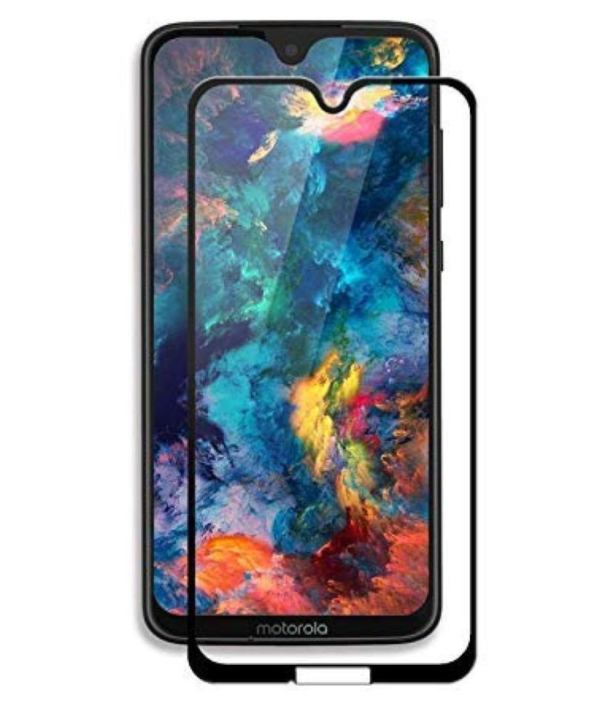 Moto G7 Power Tempered Glass Screen Guard By lenmax UV Protection, Anti Reflection