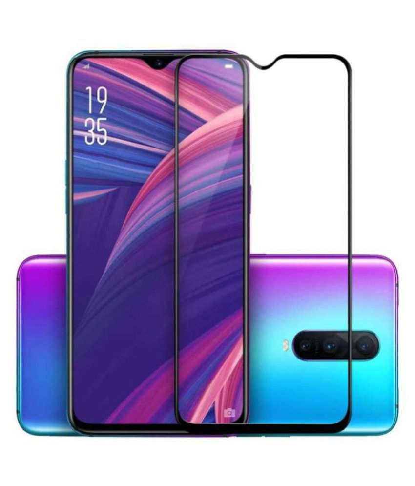 OPPO A9 Tempered Glass Screen Guard By lenmax UV Protection, Anti Reflection