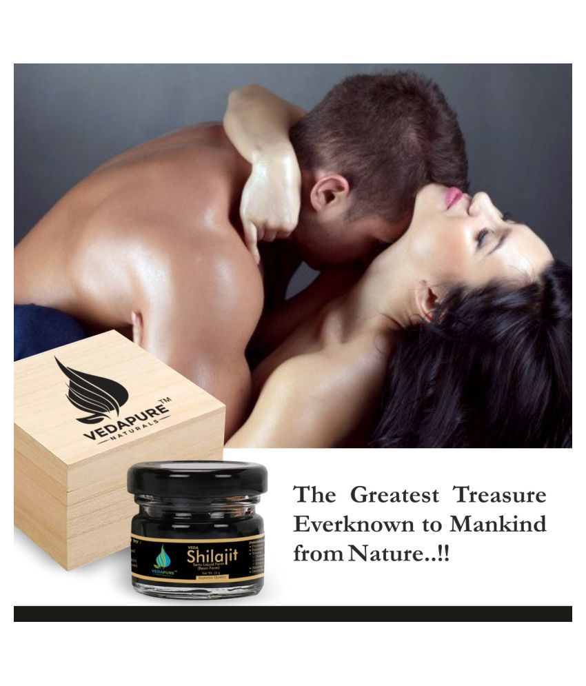 VedaPure Naturals Raw Shilajit Resin-25gm for Strength, Stamina, Endurance,General weakness And Pure and Most Potent Resin Form - 25 Grams 25 gm Multivitamins Syrup