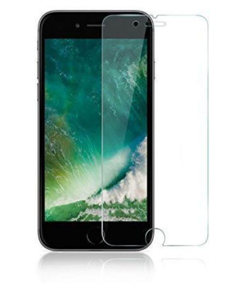 iPhone 8 Plus Tempered Glass Screen Guard By lenmax UV Protection, Anti Reflection