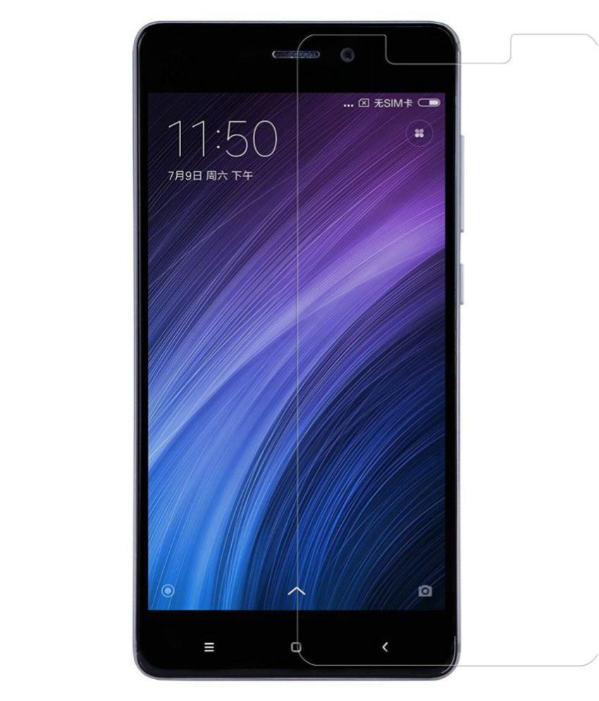 Xiaomi Redmi Tempered Glass Screen Guard By lenmax UV Protection, Anti Reflection