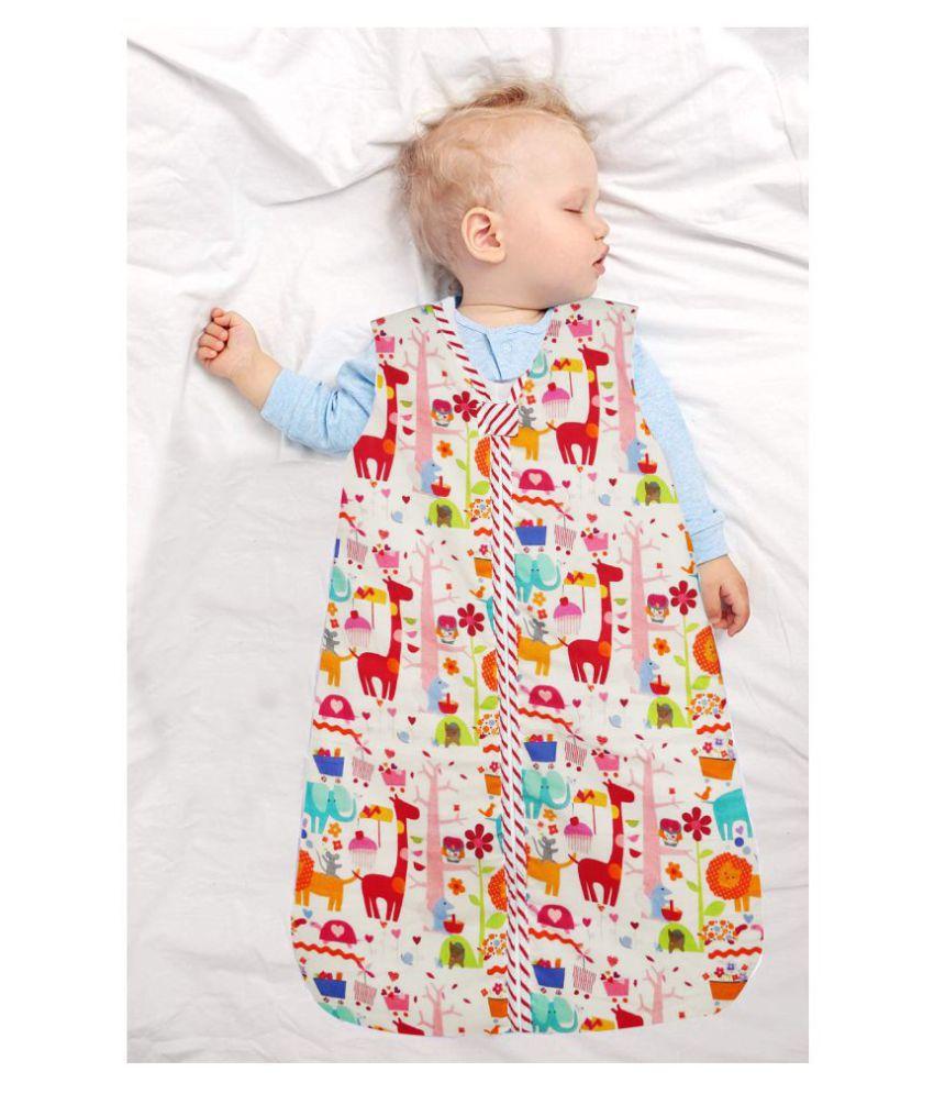 Gordon Multi Colour Cotton Sleeping Bags   70 cm × 46 cm