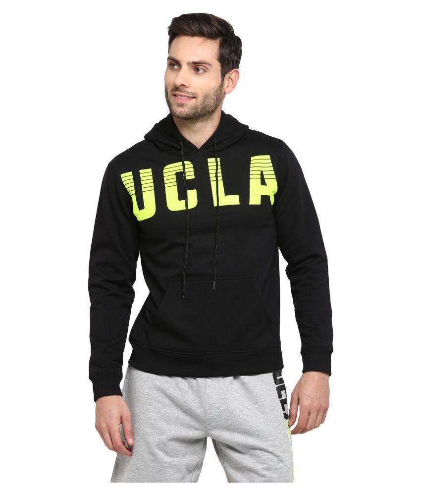 UCLA Black Polyester Sweatshirt