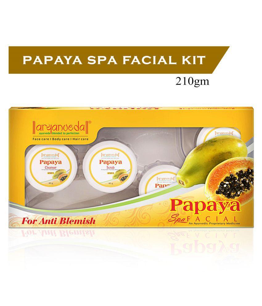 Aryanveda Papaya Facial Kit 210 g