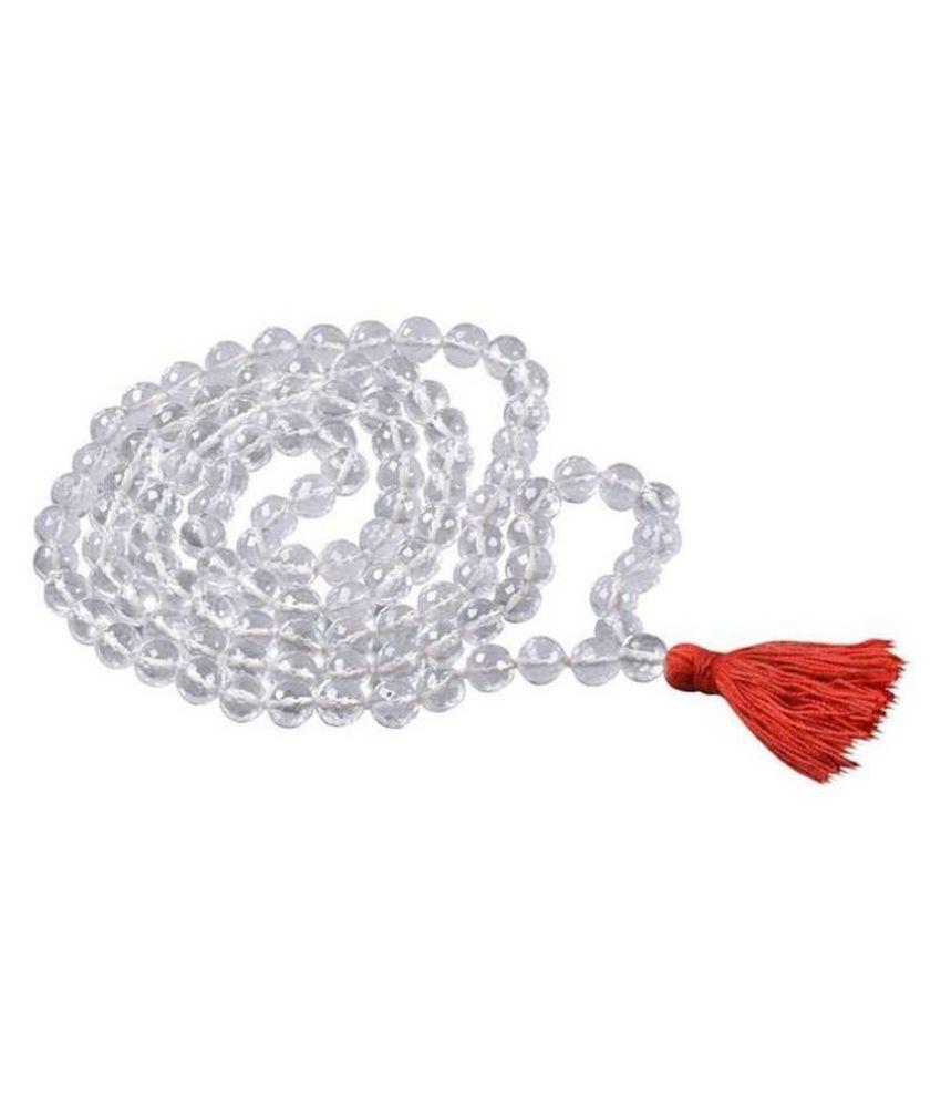 Natural Sphat ik Mala 108+1 beads (lab Certified)