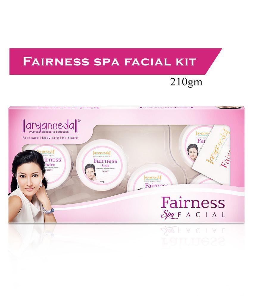 Aryanveda Fairness Facial Kit 210 g