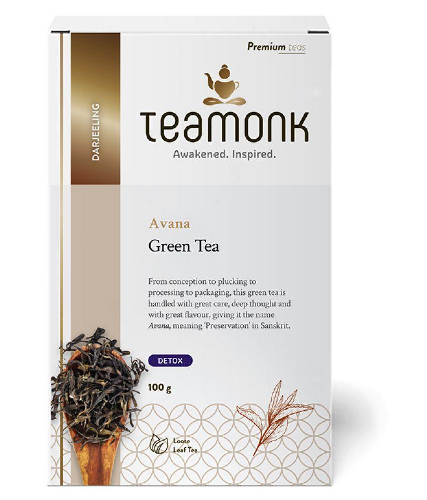 Teamonkglobal Green Tea Loose Leaf 100 gm
