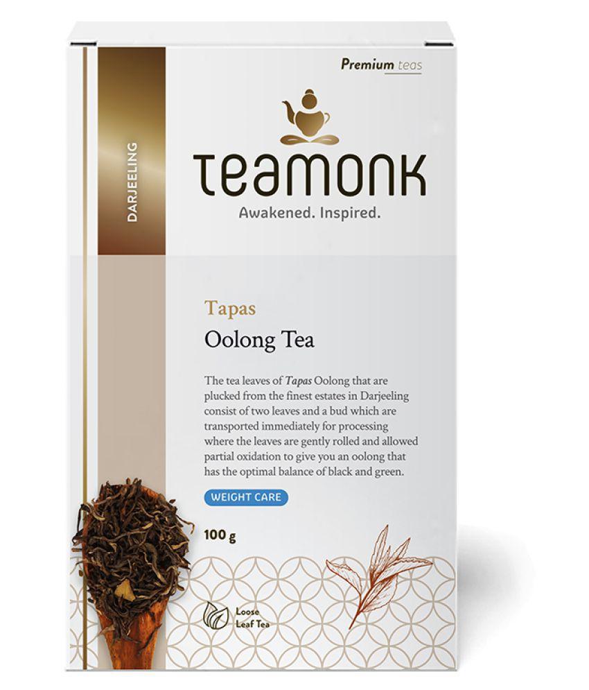 Teamonkglobal Oolong Tea Loose Leaf 100 gm