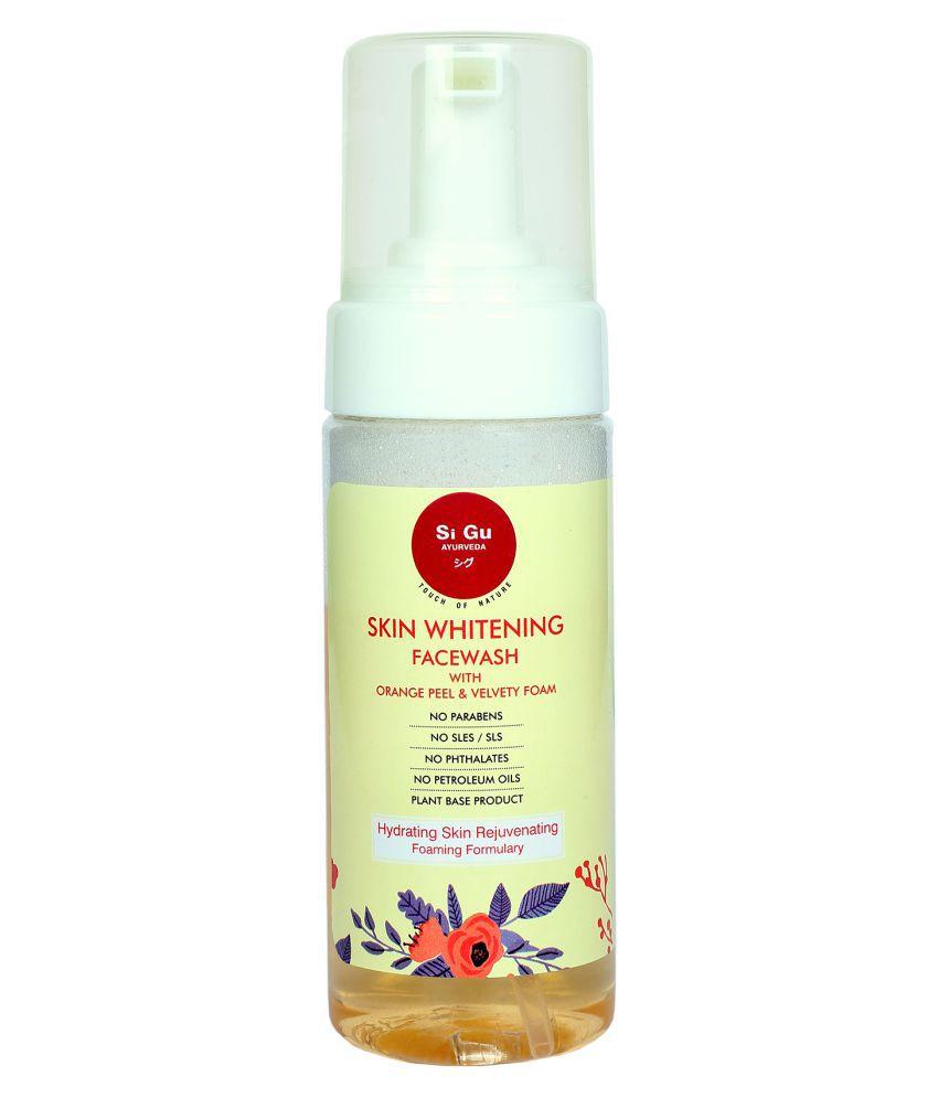 HCL SiGu Ayurveda Skin Whitening With Velvety Foam Face Wash 125 mL