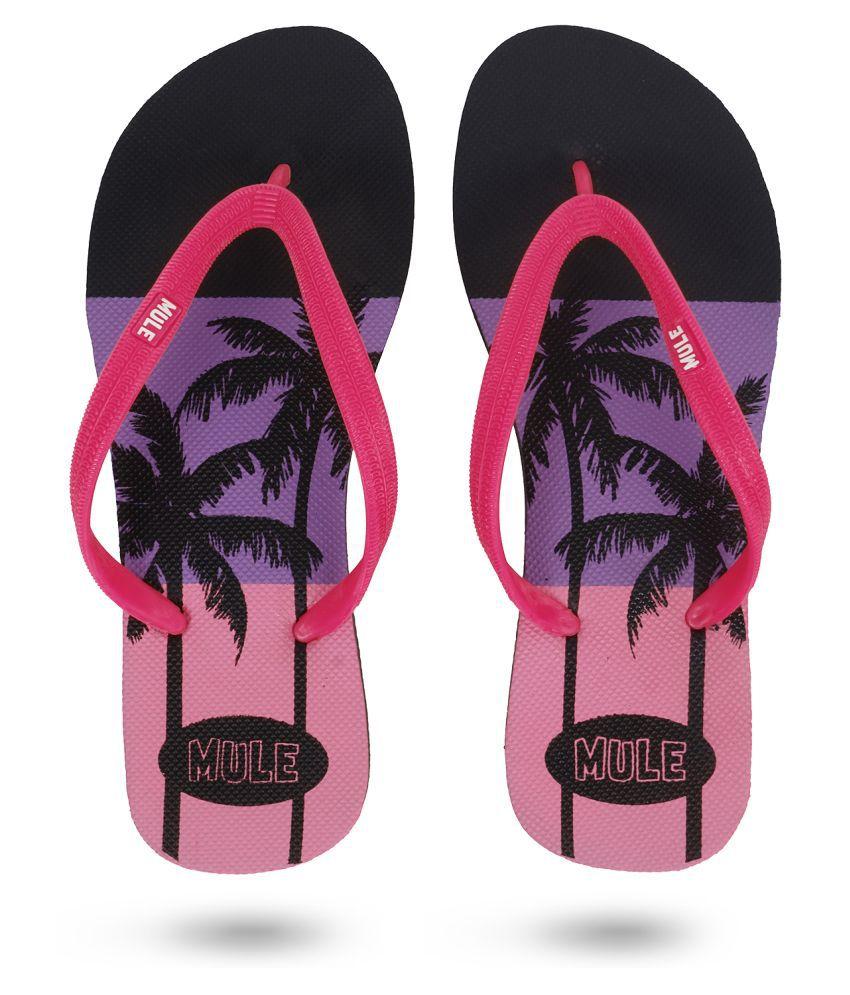Mule Purple Slippers