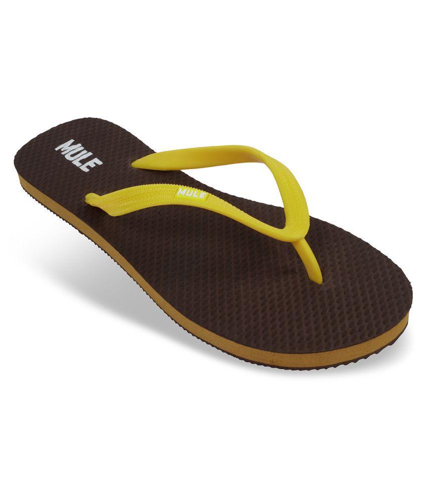 Mule Brown Slippers