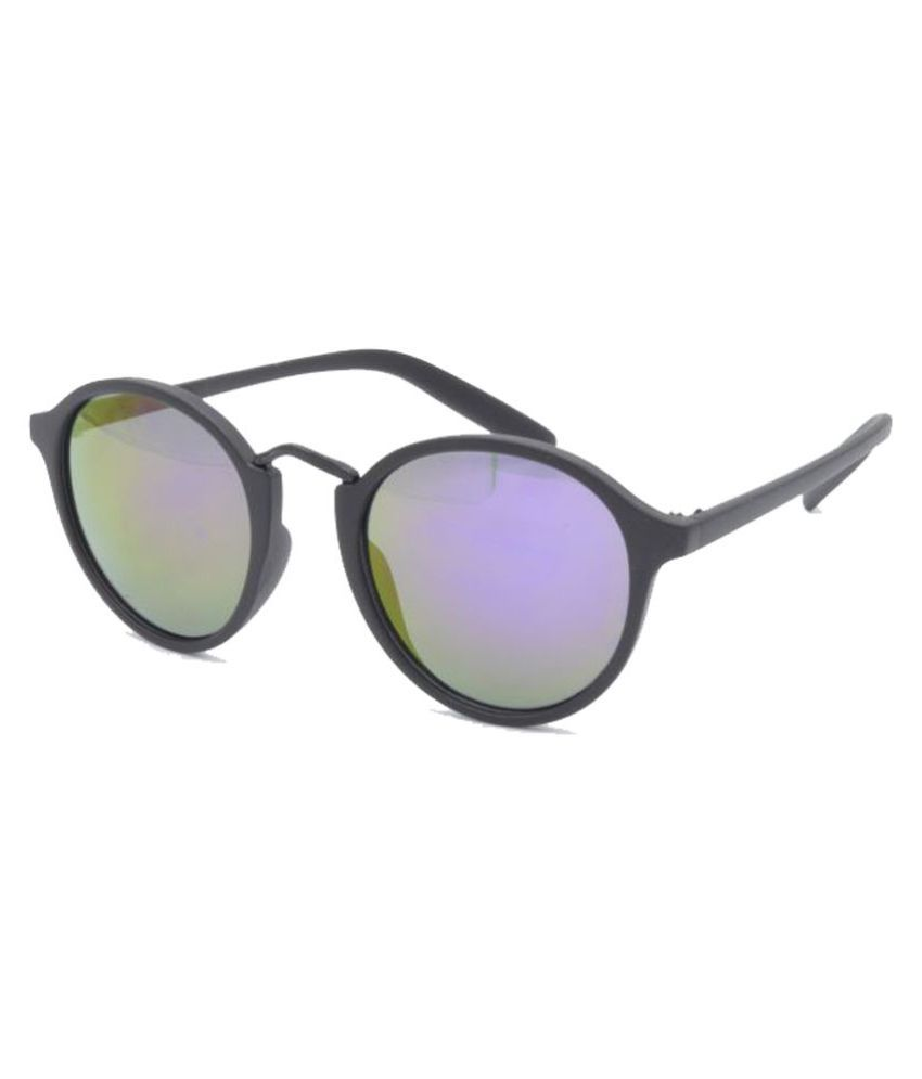 Hrinkar - Multicolor Round Sunglasses ( HRS409_1 )