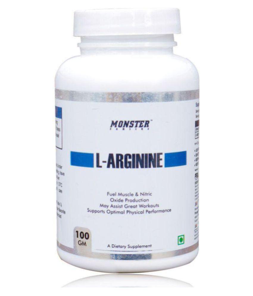 Monster Series L- Arginine Powder 10 gm