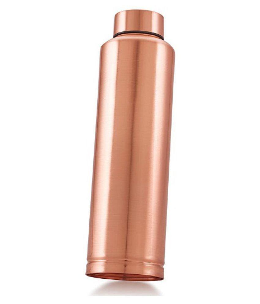 Dynore water bottle Copper 1000 mL Copper Water Bottle set of 1