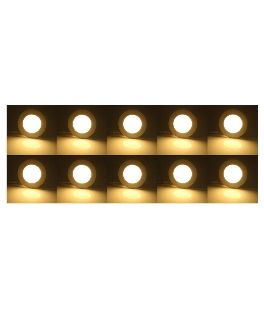 D'Mak 3W Round Ceiling Light 6 cms. - Pack of 10