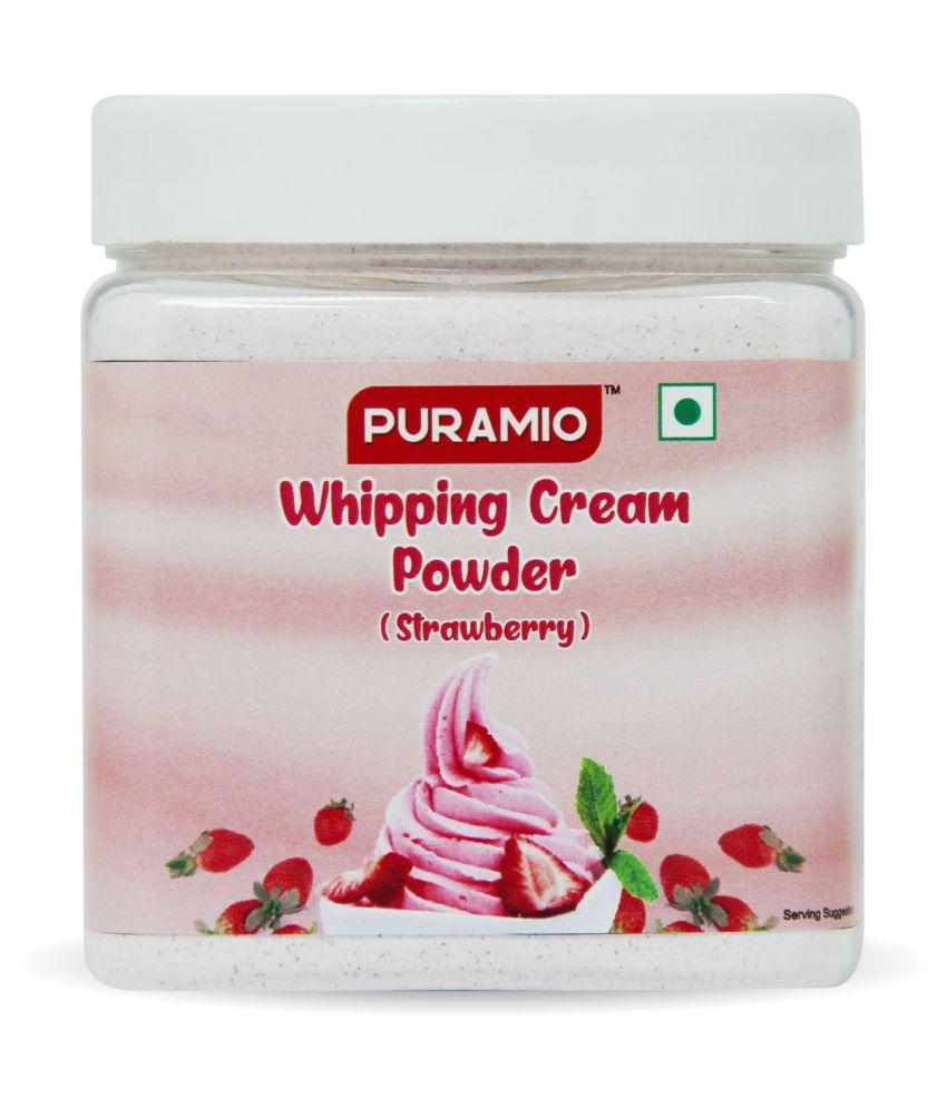 PURAMIO Strawberry Whipping Cream Powder 250 g