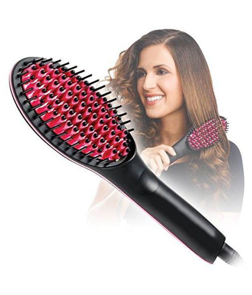 SHARUJA Simply straightener Hair Straightener ( Black & Red )
