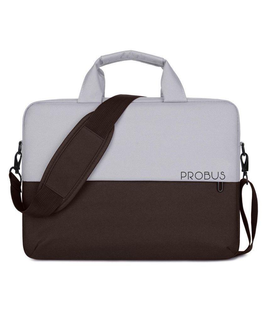 Probus Laptop Sleeve Dual Color 13.3 Inch Laptop Bag - Brown