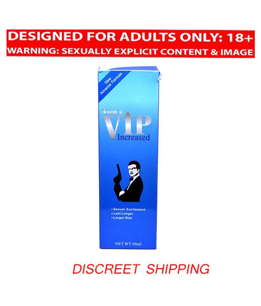 Sex Cream MEN'S VIP INCREASED Gel For Men 50ml