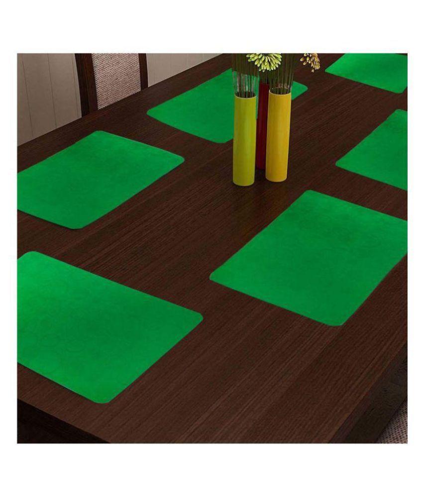 Khushi Creation Set of 6 PVC Table Mats
