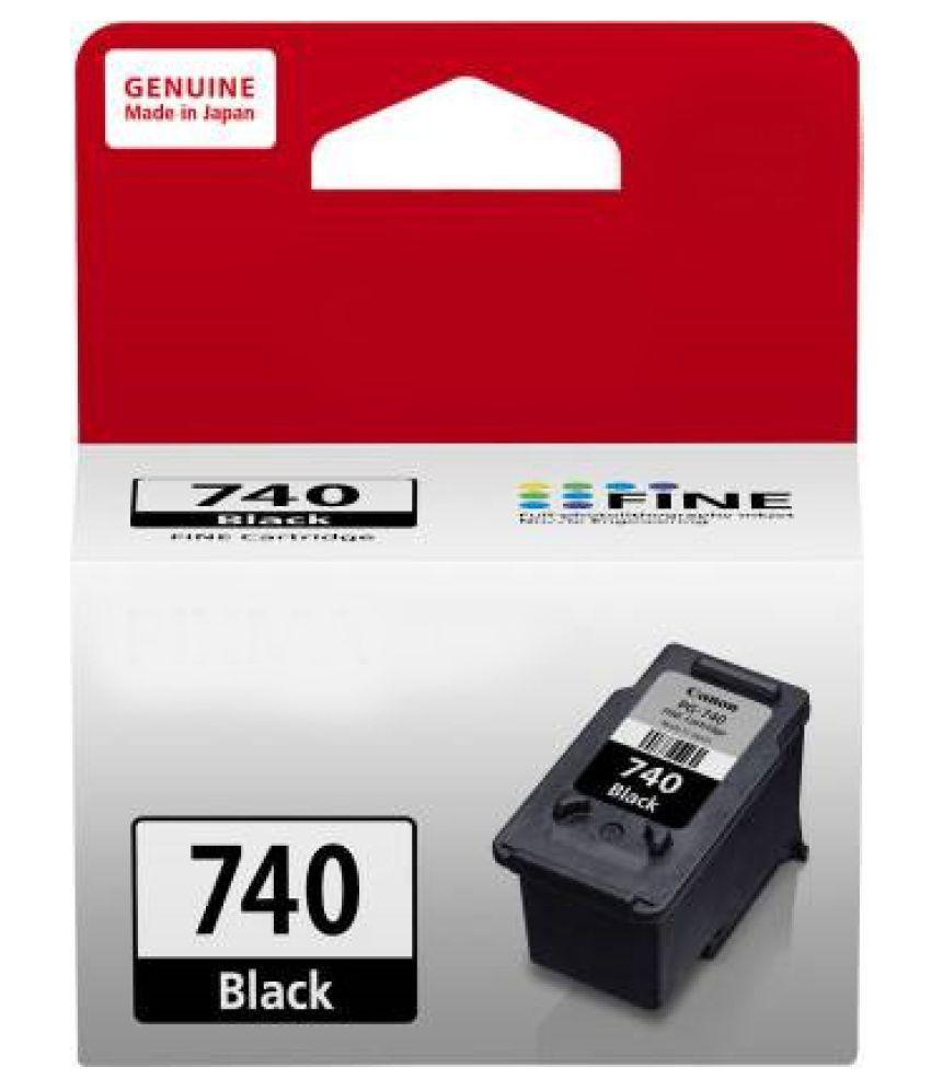BlueBox Canon 740 Black Single Cartridge for Canon Ink Printers