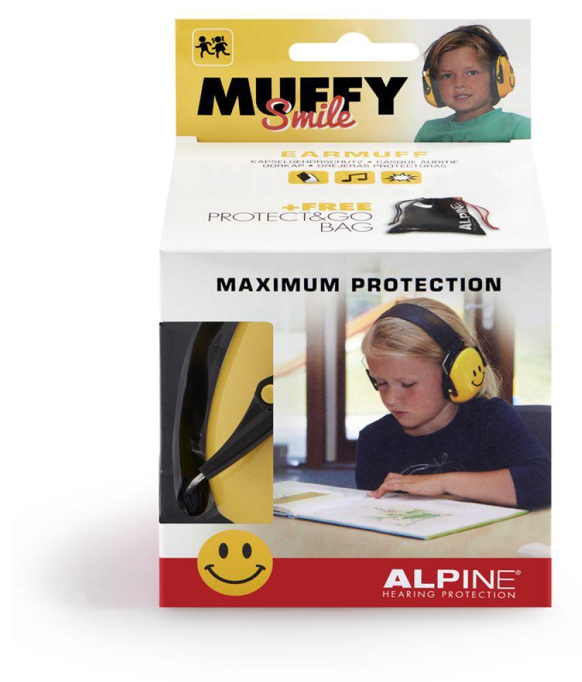 Alpine Muffy Smile (Yellow) Ear Muffs