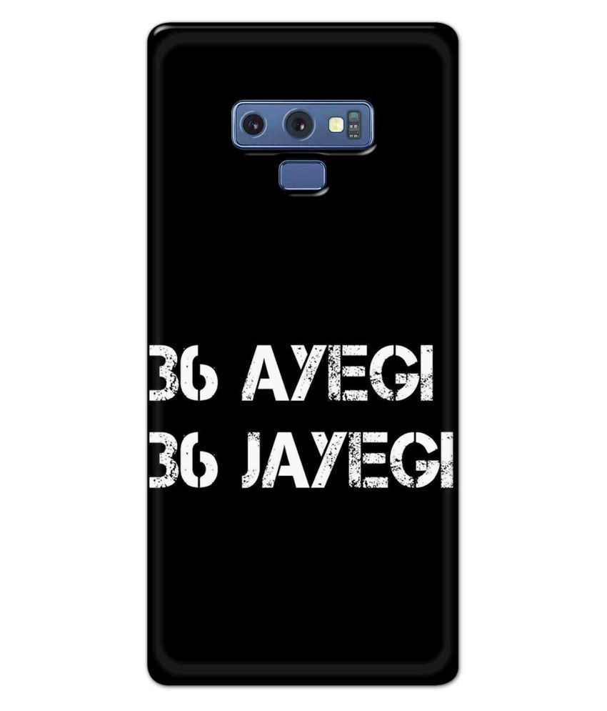 Samsung Galaxy Note 9 Printed Cover By Alve