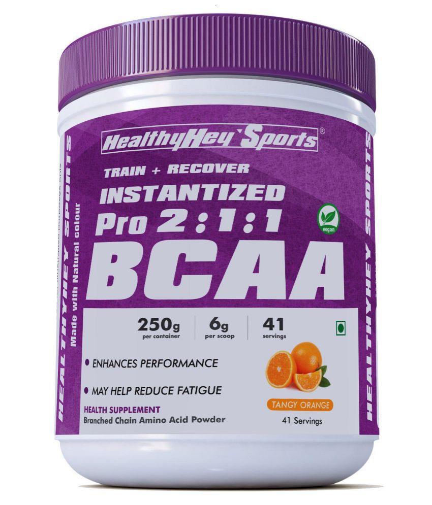 HealthyHey Sports HealthyHey Sports BCAA Powder Branched Chain Amino Powder 250 gm