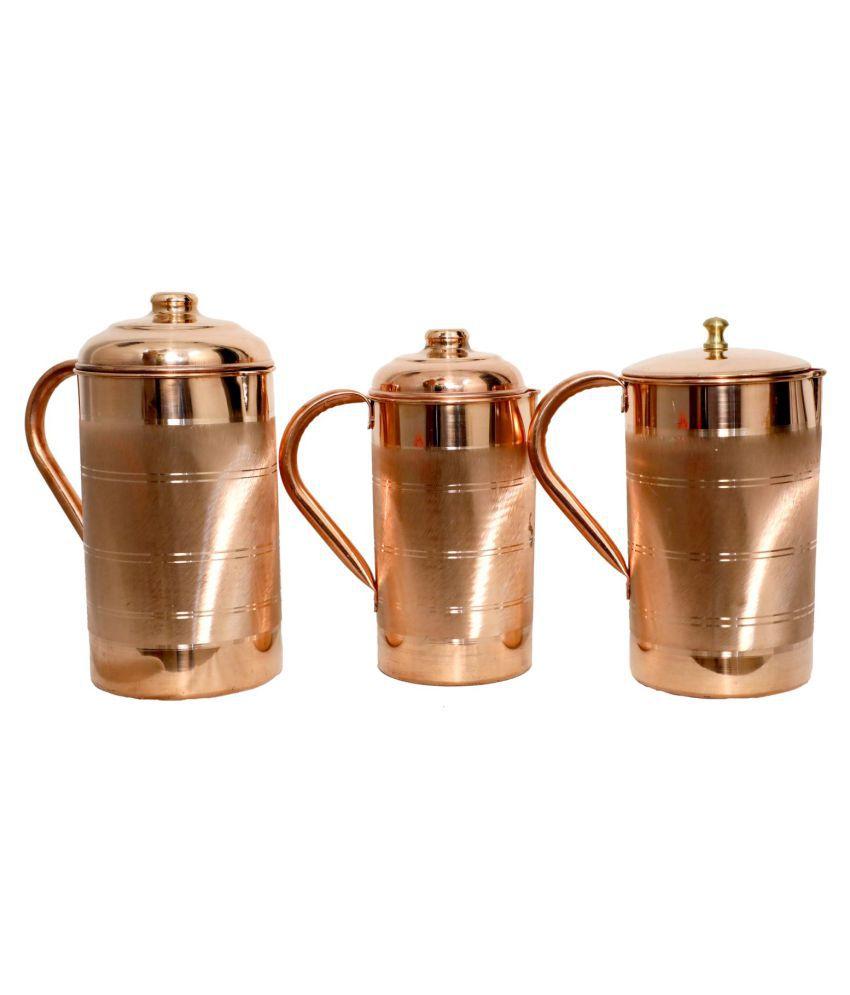 RUDRA'S Copper Jugs 1200 mL