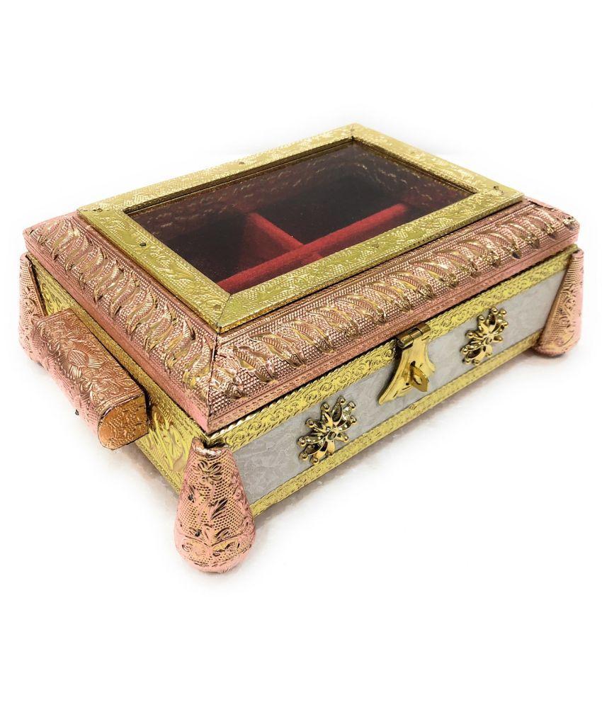 Wedding Gift Box Dry Fruit Box Mukhwas Box Empty Sweet Box Meenakari Box Wood Decorative Platter