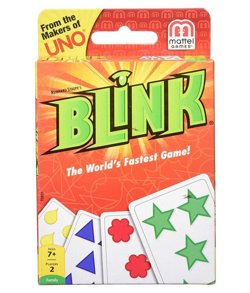 Mattel Reinhards Staupe's Blink The World's Fastest Card Game