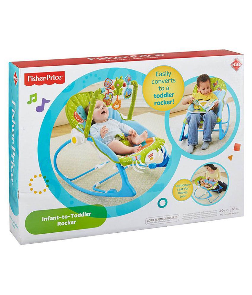Fisher Price Fisher-Price Infant-to-Toddler Rocker