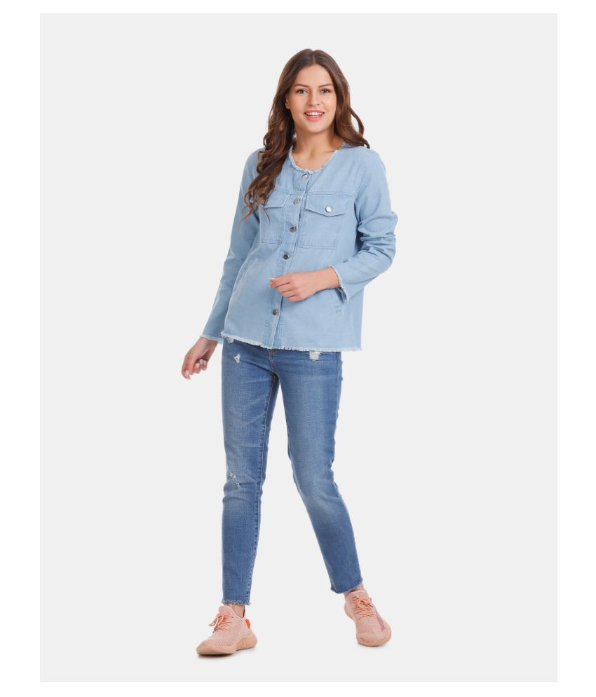Buy Cherokee Cotton Blue Jackets Online at Best Prices in ...